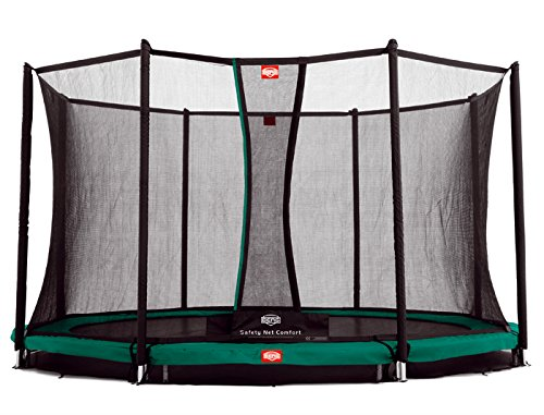 Berg Toys Trampolin Inground Favorit + Sicherheitsnetz Comfort 330