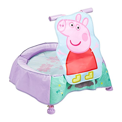 peppa pig trampolin mit sounds f r kleinkinder kaufen trampolin for fun. Black Bedroom Furniture Sets. Home Design Ideas
