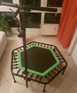 SportPlus Fitness Trampolin Test - fertig